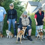 Vinderne af lundehunderæset: Freje (veteran tæver), Lunda (voksne tæver), Tavi (unghund hanner), Loke (voksne hanner - han blev også vinder af vinderne), Dis (unghund tæver)