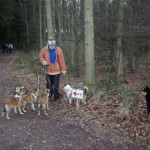 Vi havde syv hunde med. Lundehundene Gaia, Lita, Pickvin, Nicco, Keeza og Eskil samt Finsk Hyrdehund Mooja