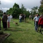 Samling i haven