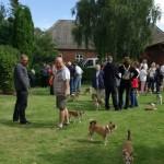 Det er hyggeligt at mødes med alle lundehundevennerne