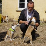 Siri hilser på 'plejefar' Henrik