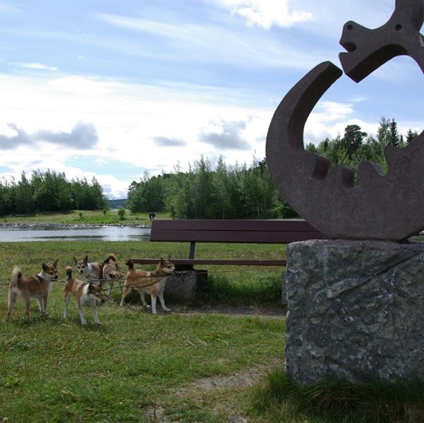 Ved Storsjön i Östersund
