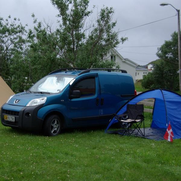 Camping på Værøy